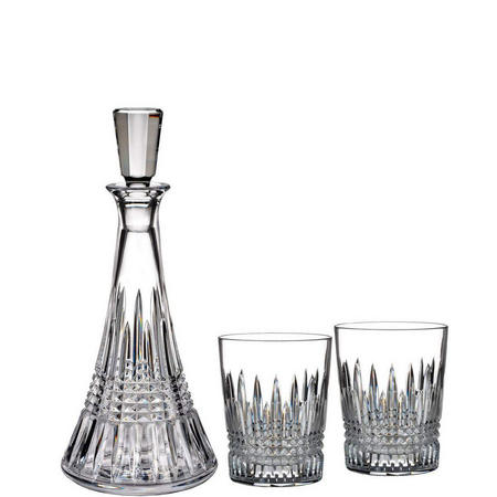 Lismore Diamond Decanter Gift Set