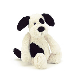 Bashful Puppy 18cm White