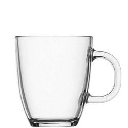 Bistro Coffee & Tea Mug Clear