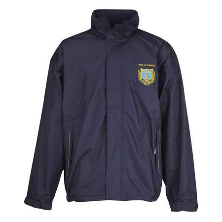 Crested Jacket Blue