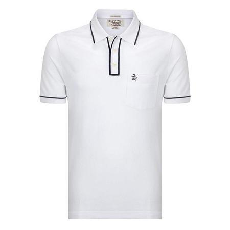 The Earl 2.0 Polo Shirt White
