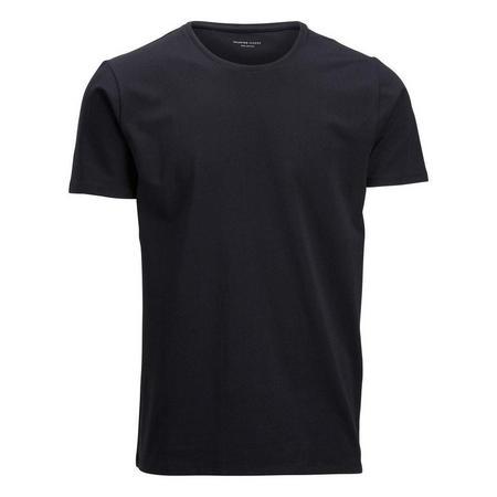 Pima Short Sleeve O-Neck T-Shirt Black