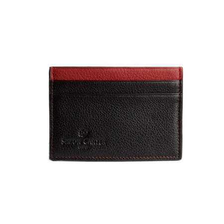 Colour Strip Creditcard Holder Red