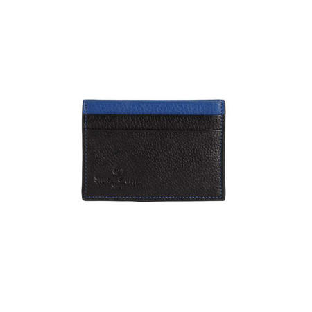 Colour Strip Creditcard Holder Blue