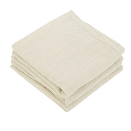 Muslin Square Towel Cream