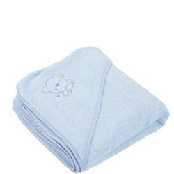 Hooded Towel Blue