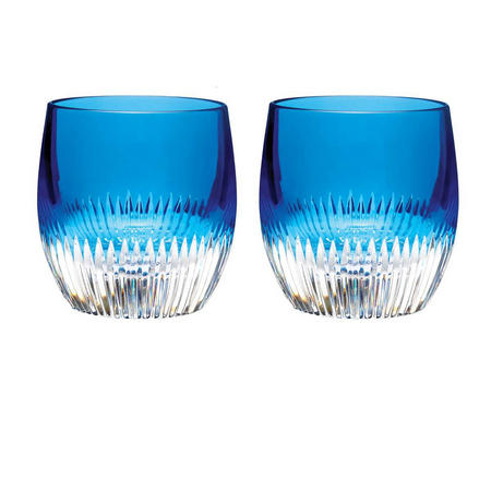Mixology Argon Blue Tumbler Set of 2