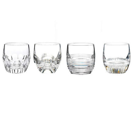 Mixology Clear Tumbler Set Of 4
