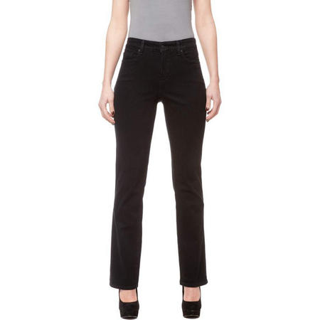 Petite Straight Jeans Black