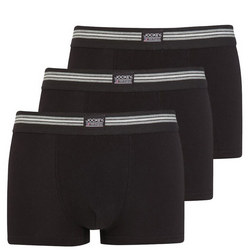 Three-Pack Boxers Black