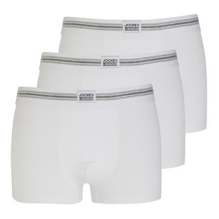 Three-Pack Boxers White