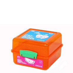 Lunchbox 2 Compartment Cube