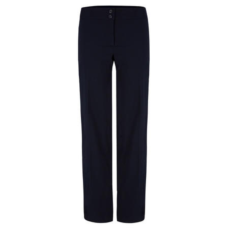 Girls Crested School Uniform Trousers Blue
