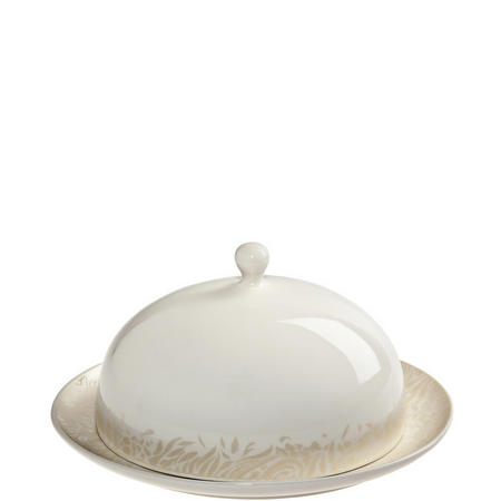 Monsoon Lucille Butter Dish Gold