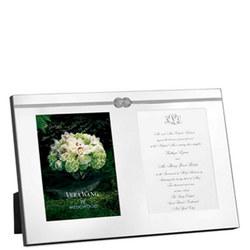 Wedgwood Vera Infinity Frame Double Invitation