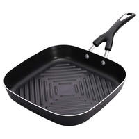 Grill Pan Square 28 Cm Black