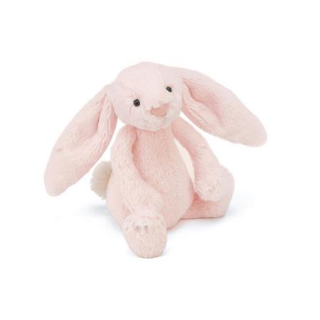 Bashful Bunny Rattle Pink