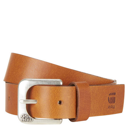 Zed Leather Belt Brown