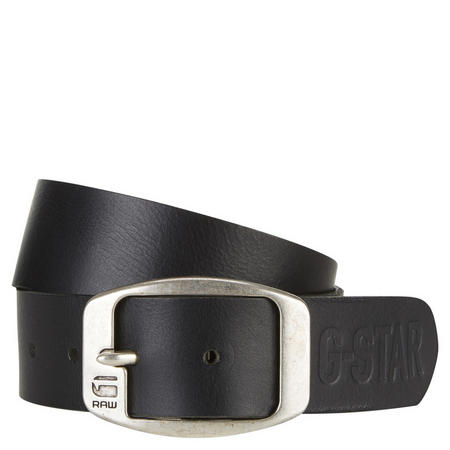 Ladd Leather Belt Black