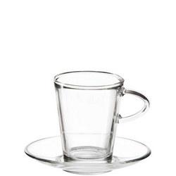 Tea Glass 220ml Set Of 2 Clear