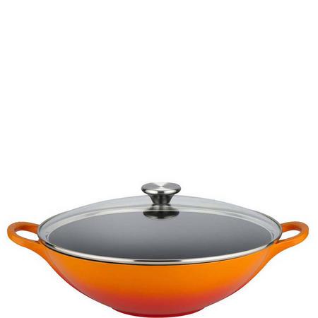 Wok 30cm Orange