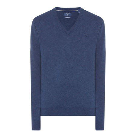 V-Neck Sweater Blue