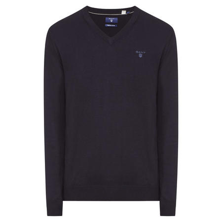 V-Neck Jumper Navy
