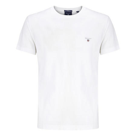 Solid Crew Neck T-Shirt White