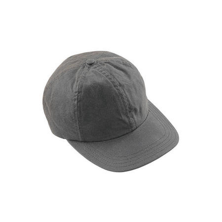 Waxed Sports Cap Grey