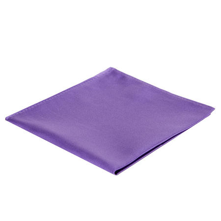 Microfibre Pocket Square Purple