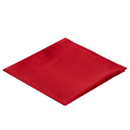 Microfibre Pocket Square Red