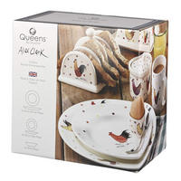Alex Clarke Rooster Dinner Set 12 Piece