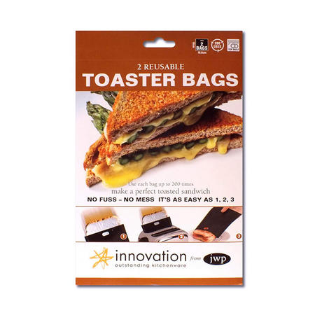 Toaster Bags X2 Brown