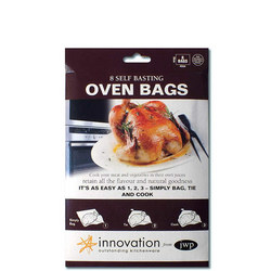 Oven Bags X8 Brown