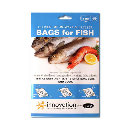 Bags For Fish Blue Pack Of 15