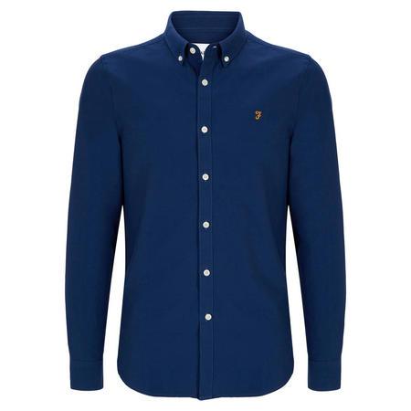 Brewer Slim Fit Shirt Navy