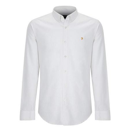 Brewer Slim Fit Shirt White