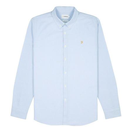 Brewer Slim Fit Shirt Blue