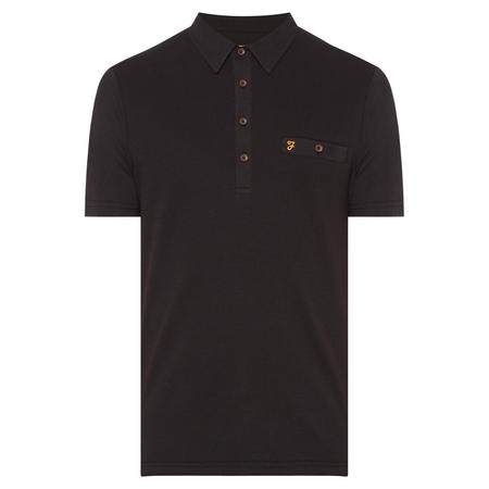 Lester Polo Shirt Black