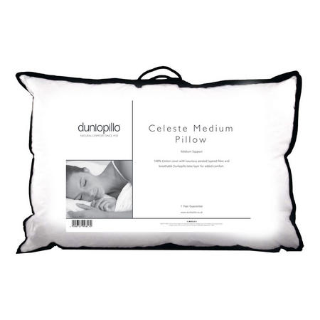 Celeste Medium Support Pillow