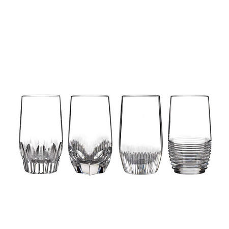 Mixology Clear HiBall Set Of 4