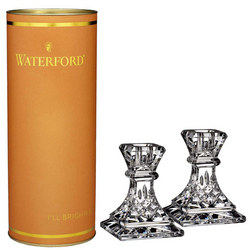 Giftology Lismore Candlestick Set Of 2