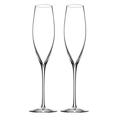 Elegance Champagne Classic Flute Set Of 2