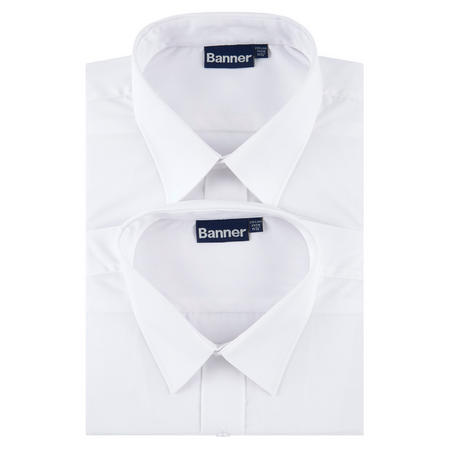 Twin Pack Long Sleeve Shirts White