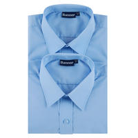 Boys Two-Pack Basic Shirts Pale Blue