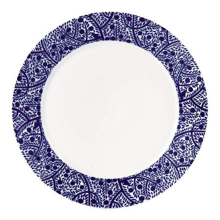 Fable Plate 27cm Blue Tree