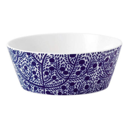 Fable Cereal Bowl Blue Tree