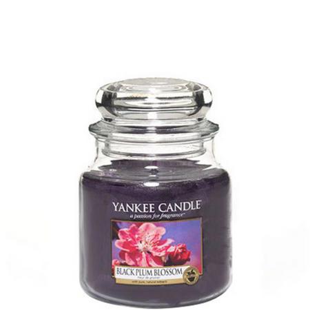 Black Plum Blossom Jar Medium