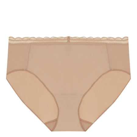 Soft Lace Brief Nude