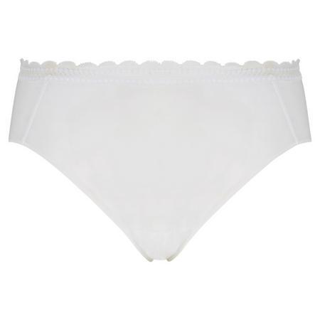 Soft Lace Brief White